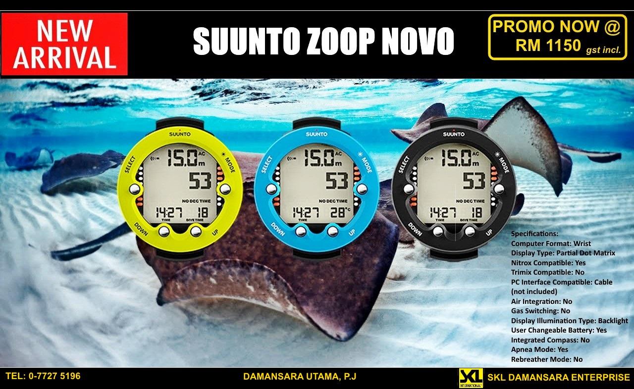 Suunto Zoop Novo 2016 Series