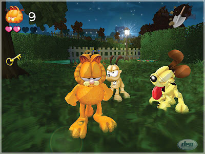 Garfield: Lasagne World Tour (PS2) 2008