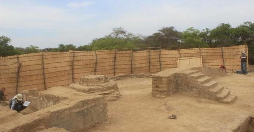 Descubren sala de banquetes protocolares de cultura Mochica en Huaca Limón - Lambayeque