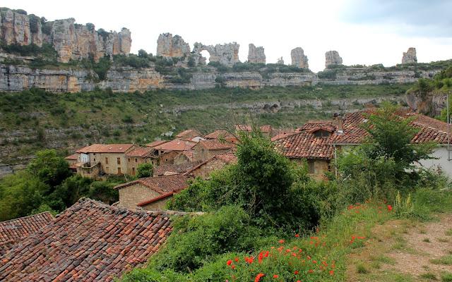 Los cortados del cañón del río Ebro en Orbaneja del Castillo