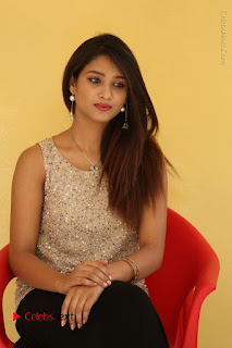 Tollywood Upcoming Actress Arthi Stills in Black Skirt at Plus 1 Movie Trailer Launch  0089.JPG