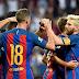 Barcelona ganó 4-2 al Leicester City