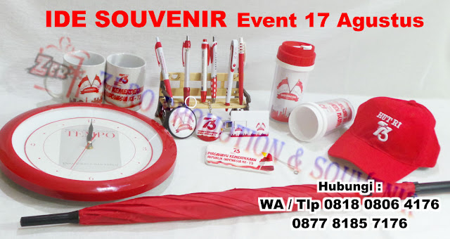Ide Souvenir Unik untuk event 17 Agustus