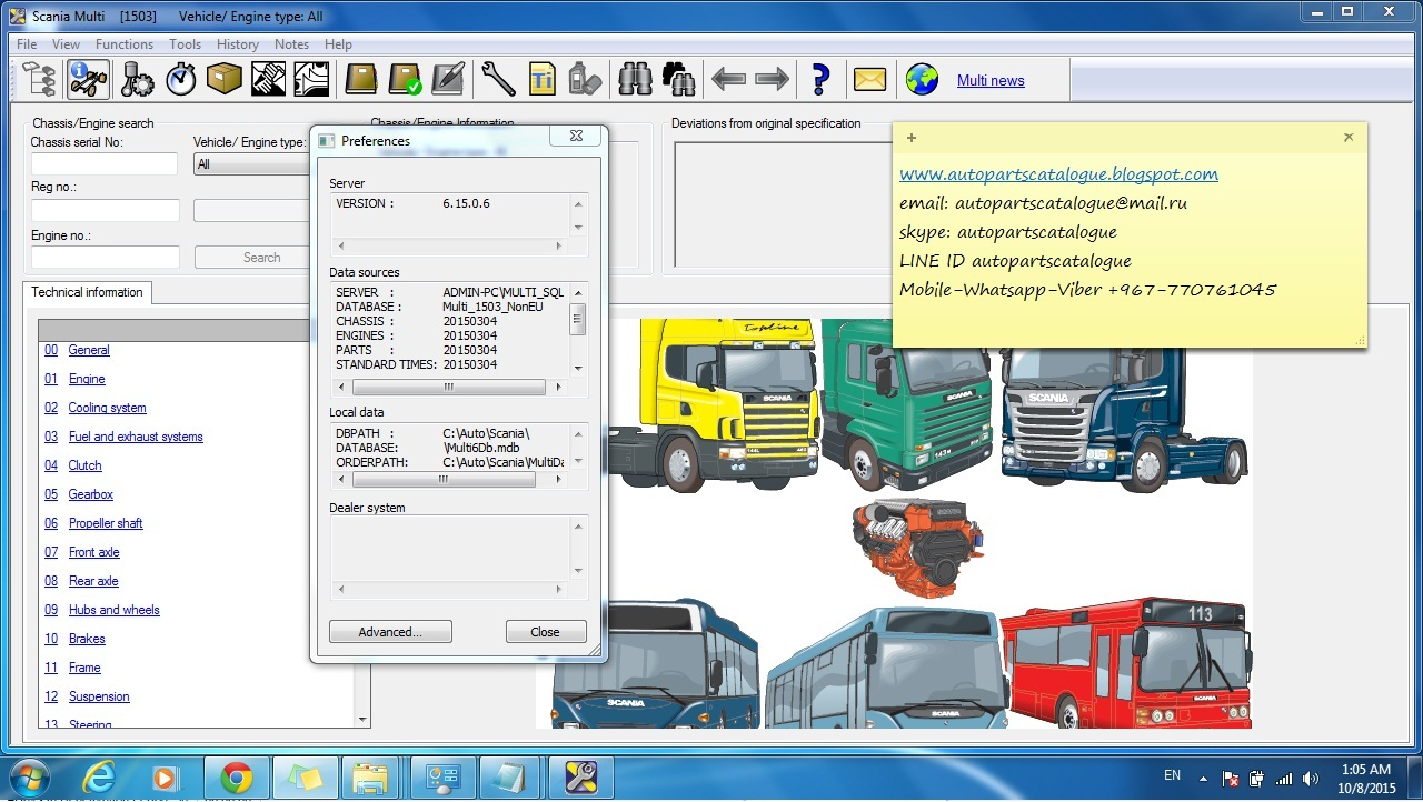 Scania workshop manual tams diag.