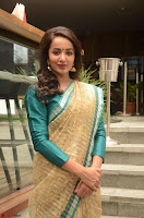 Tejaswi Madivada looks super cute in Saree at V care fund raising event COLORS ~  Exclusive 103.JPG