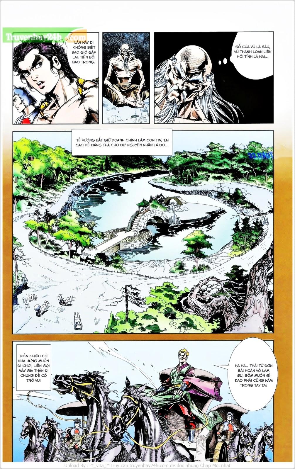 Tần Vương Doanh Chính chapter 26 trang 16