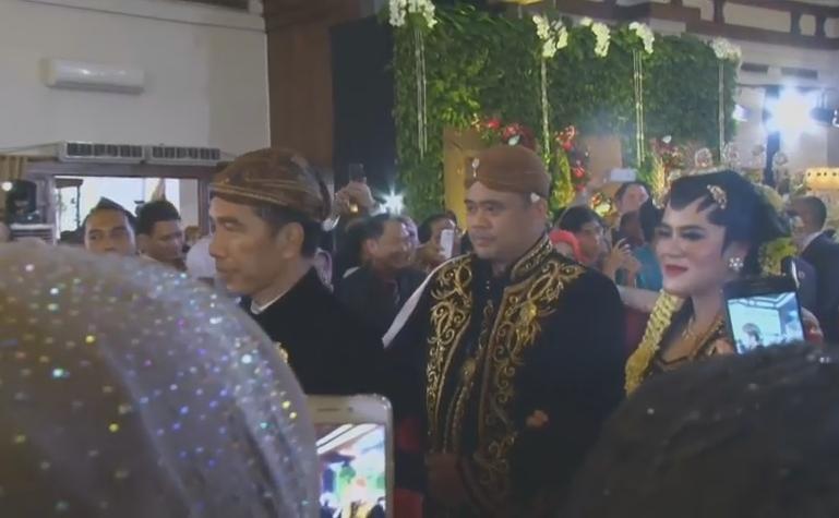 foto-foto pernikahan kahiyang bobby