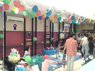 Dekorasi balon ulang tahun, Balon dekor
