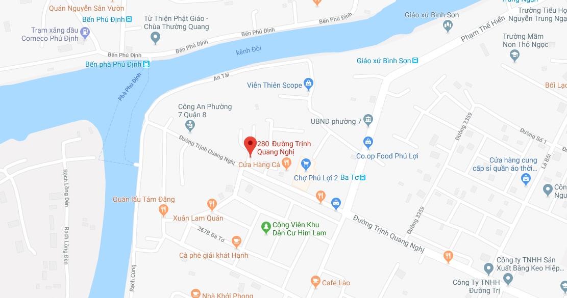 Bán nhà hẻm 280 Trinh Quang Nghị, phường 7, Quận 8 giá rẻ, chỉ 2,1 tỷ