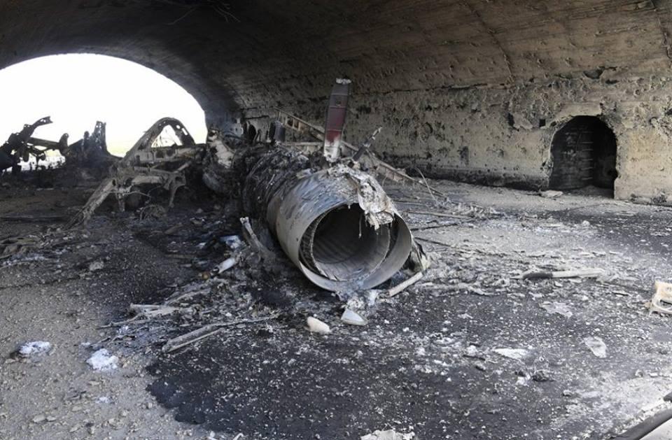 Високоточні удари США випалили літаки прямо в ангарах. Росія панікує (фото) Ukrainian Military Pages