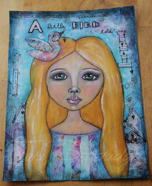 A Little Bird Told Me by Tori Beveridge