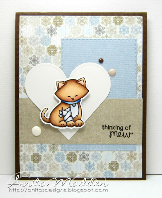 Thinking of Mew by Anita features Newton's Sick Day by Newton's Nook Designs; #newtonsnook