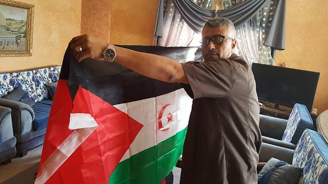 """محمد أحمد ماضي، رئيس """"اللجنة الفلسطينية للتضامن مع الشعب الصحراوي"""