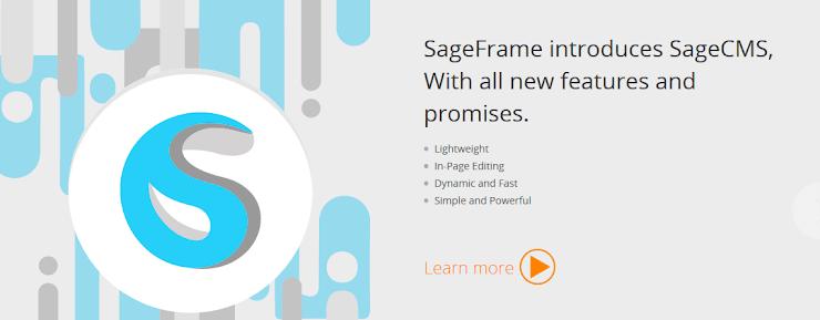 SageFrame content management system
