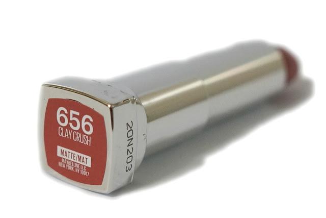 Maybelline Color Sensational Creamy Matte Lipstick in 656 Clay Crush
