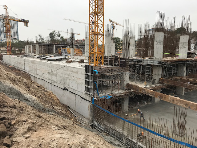 Dự án 82 Nguyễn Tuân đang có tiến độ rất khẩn trương