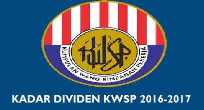 Kadar Dividen EPF 2016
