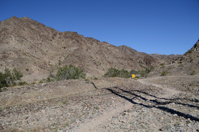 starting toward Telegraph Pass