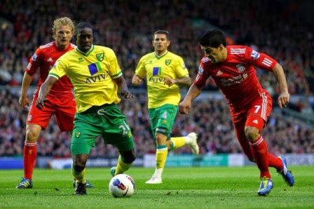 Norwich City vs Liverpool