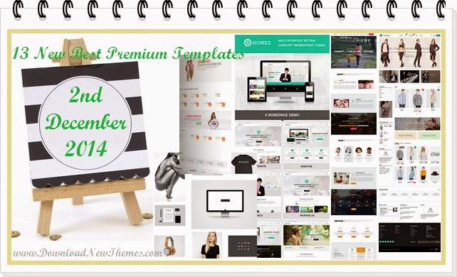 New Best Premium Templates December