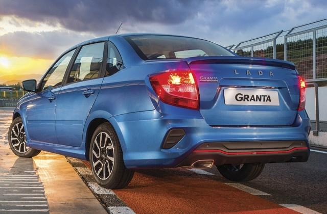 Lada Granta Drive Active - активная, но уже не спортивная