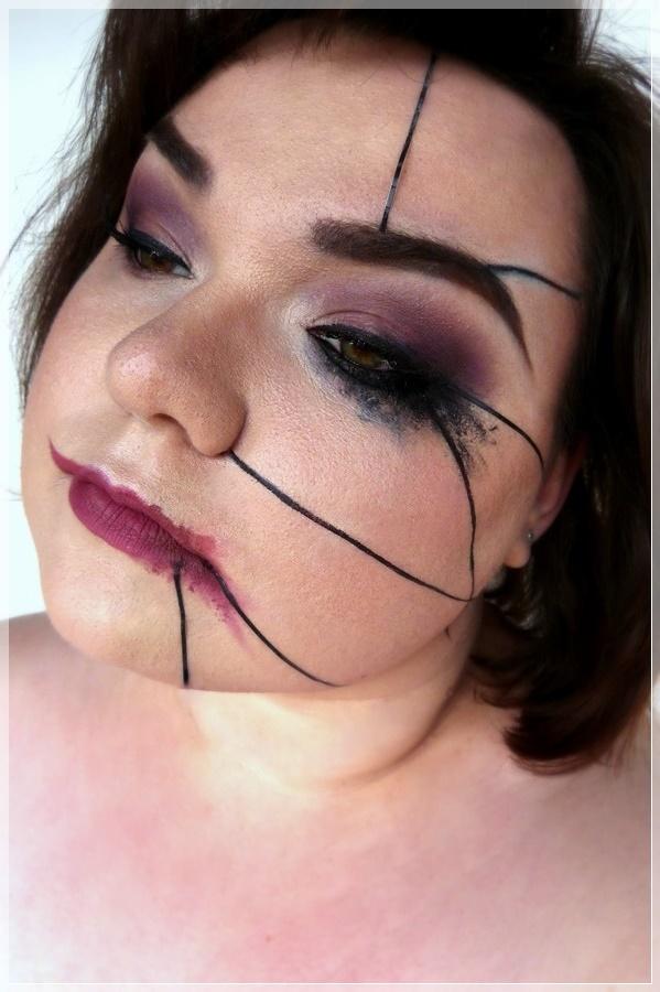 kreatives Makeup zum Imperio Zauberspruch