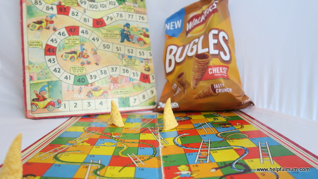 Walkers Bugles board game