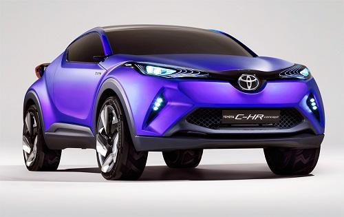Spesifikasi Dan Harga Mobil Toyota CH-R