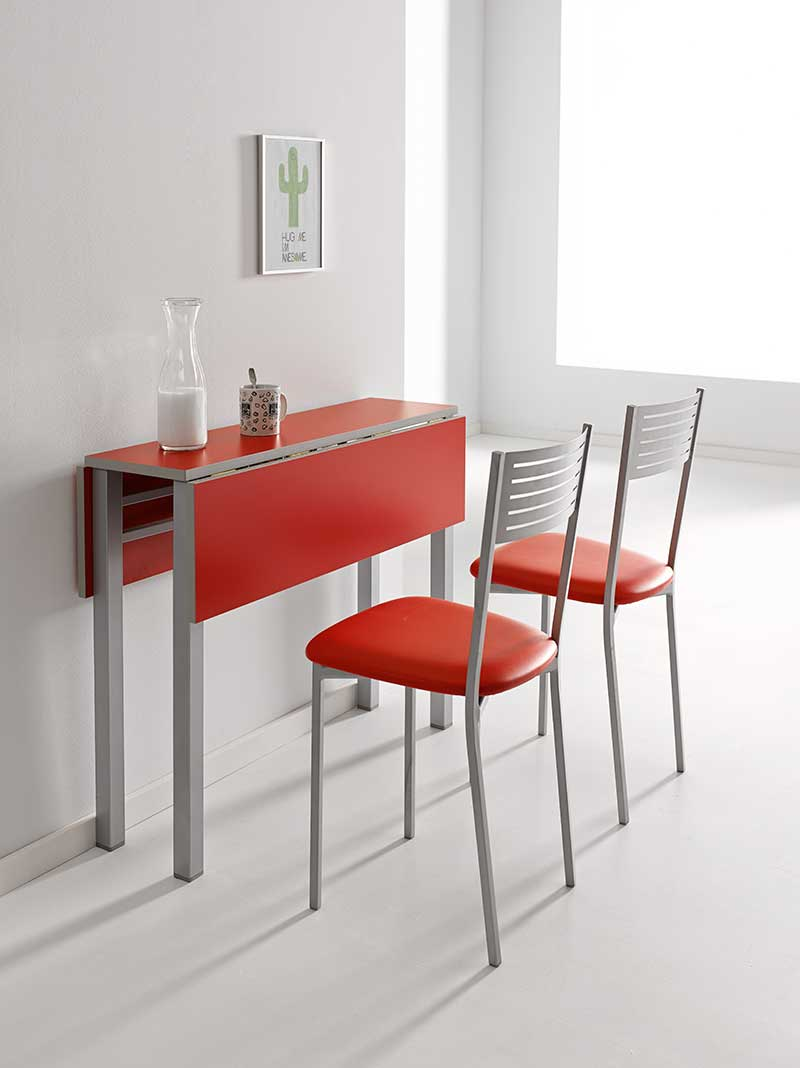 Image Of Mesa Cocina Abatible Pared Mesa de cocina plegable de pared ...