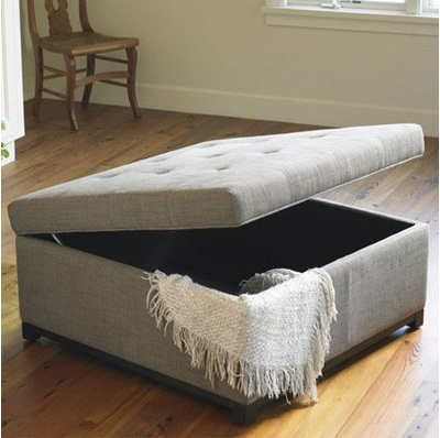 Robertson Storage Ottoman. Foto: Joss and Main