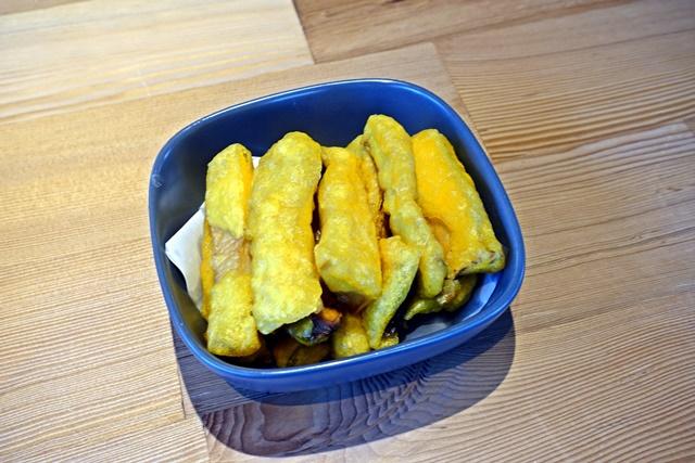 慈音山莊景觀餐廳金黃杏鮑菇