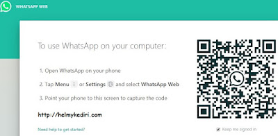 memindahkn file lewat whatsappweb