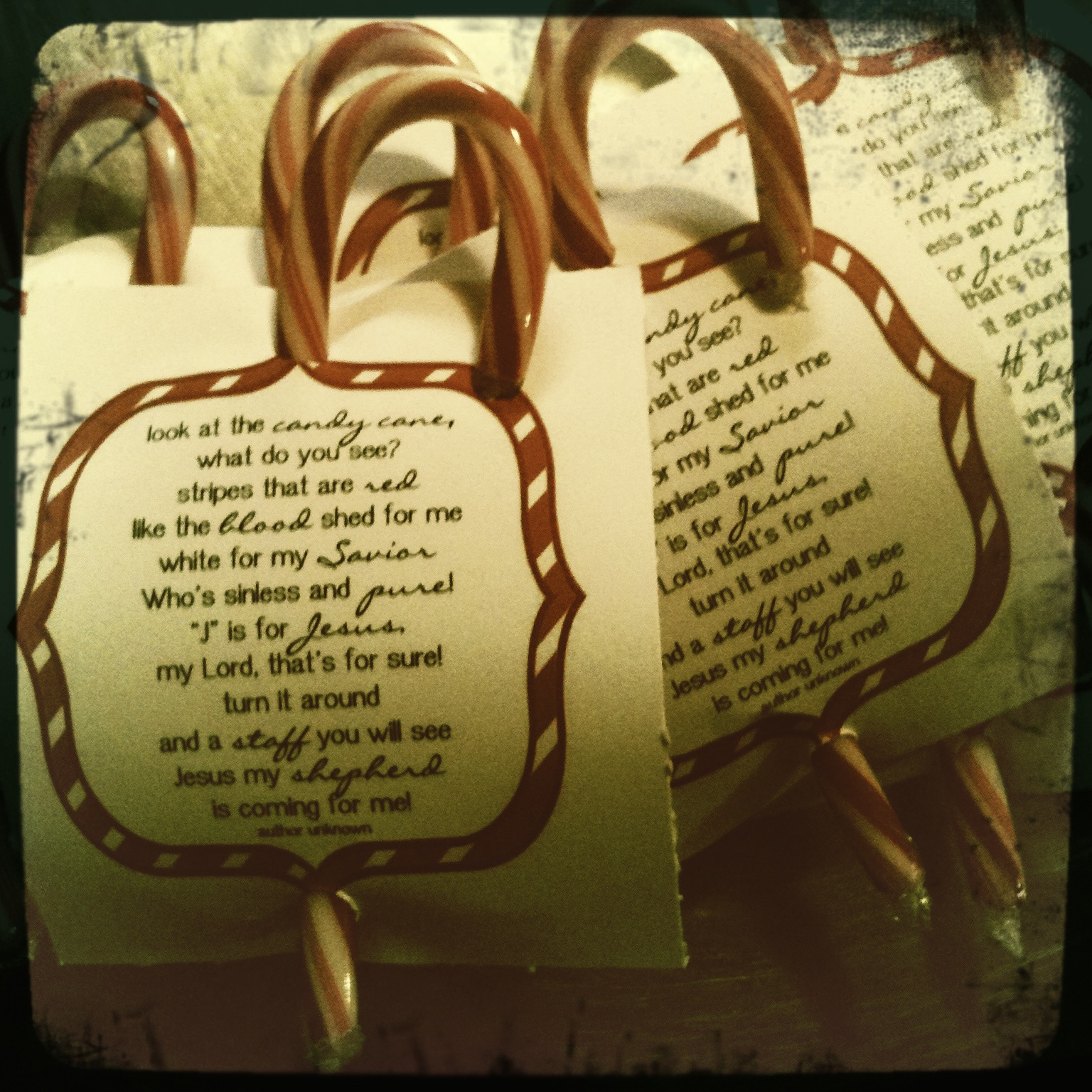 Circles of sunshine the candy cane poem diy friend or neighbor gift