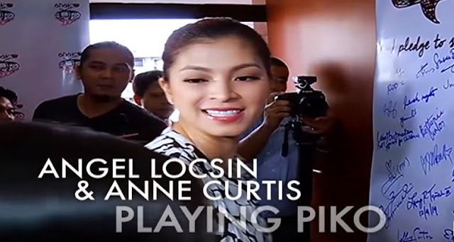 Angel Locsin Played Piko Wearing Her High Heels! AMAZING!