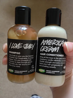 Lush Juicy Shampoo & American Cream Conditioner