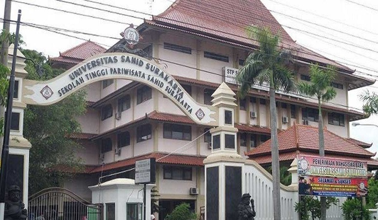 PENERIMAAN MAHASISWA BARU (STPSS) SEKOLAH TINGGI PARIWISATA SAHID SURAKARTA