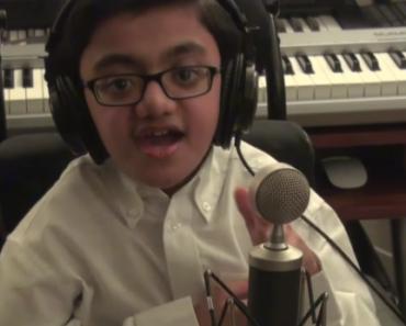 Ce jeune handicapé chante mieux qu'Eminem