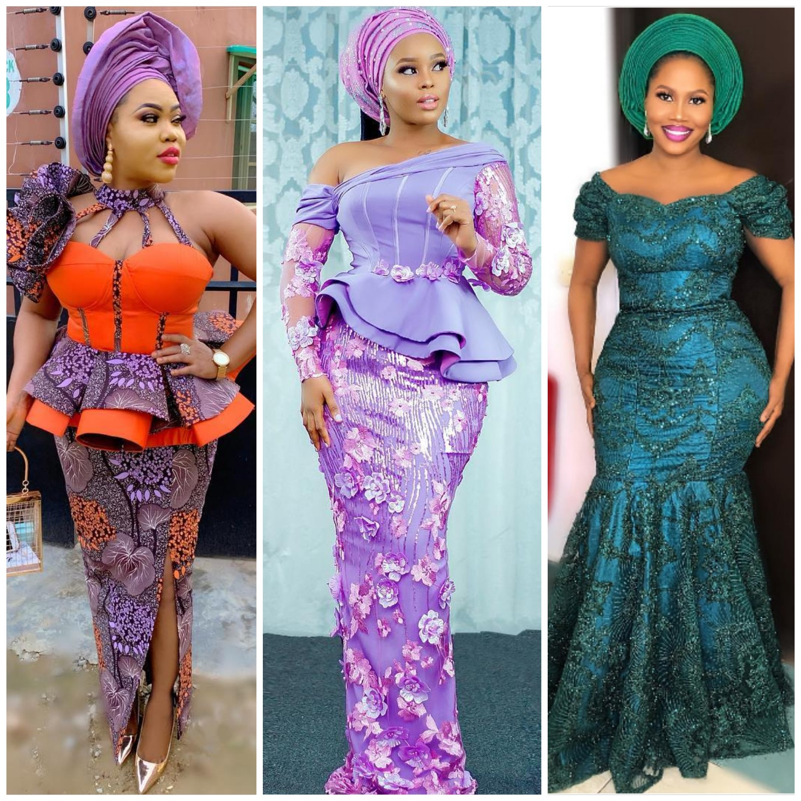 Celebrity Wedding Guest Outfits 2019: Long Aso Ebi & Kitenge Styles For Wedding Guests