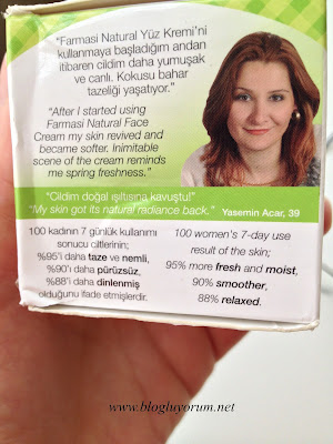 farmasi natural face cream incelemesi 4