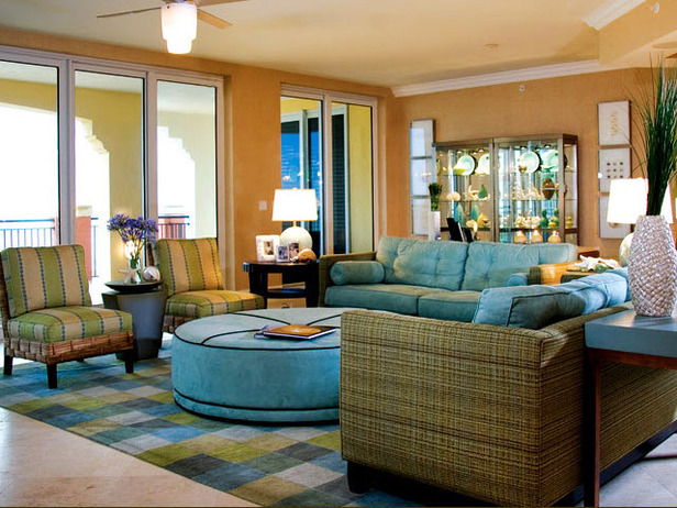 Modern Furniture: Tropical Living Room Decorating Ideas