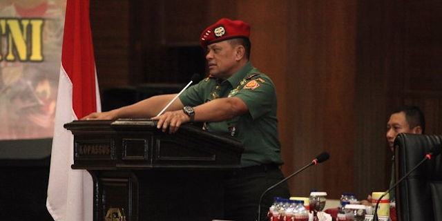 Pemimpin TNI Dirindukan Rakyat, Jenderal Gatot Pesaing Berat Jokowi di Pilpres 2019