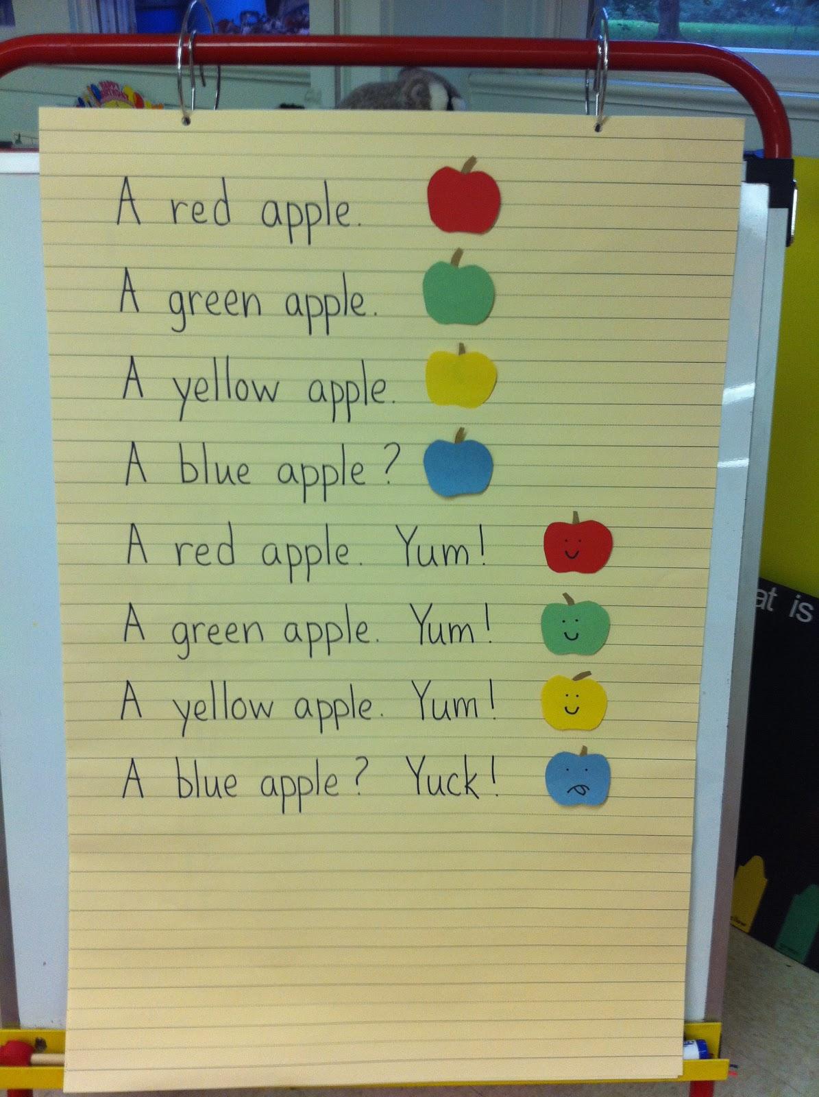 Mrs Goff S Pre K Tales Apples
