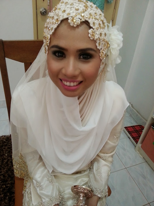 Bride To Be, I'm a Wife : Review Make Up Nikah, Sanding dan Tandang by Kak Anis, Sentuhan Alfa