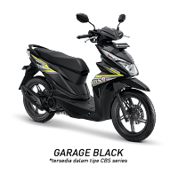 Honda BeAT Sporty eSP CBS Garage Black