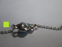 Anhänger Rückseite: Fashmond Schmuckset Schmuck-Sets eine Ohrringe, ein Armband und eine Halskette Kette mit Anhänger für Frauen Mädchen Blau aus Kristall