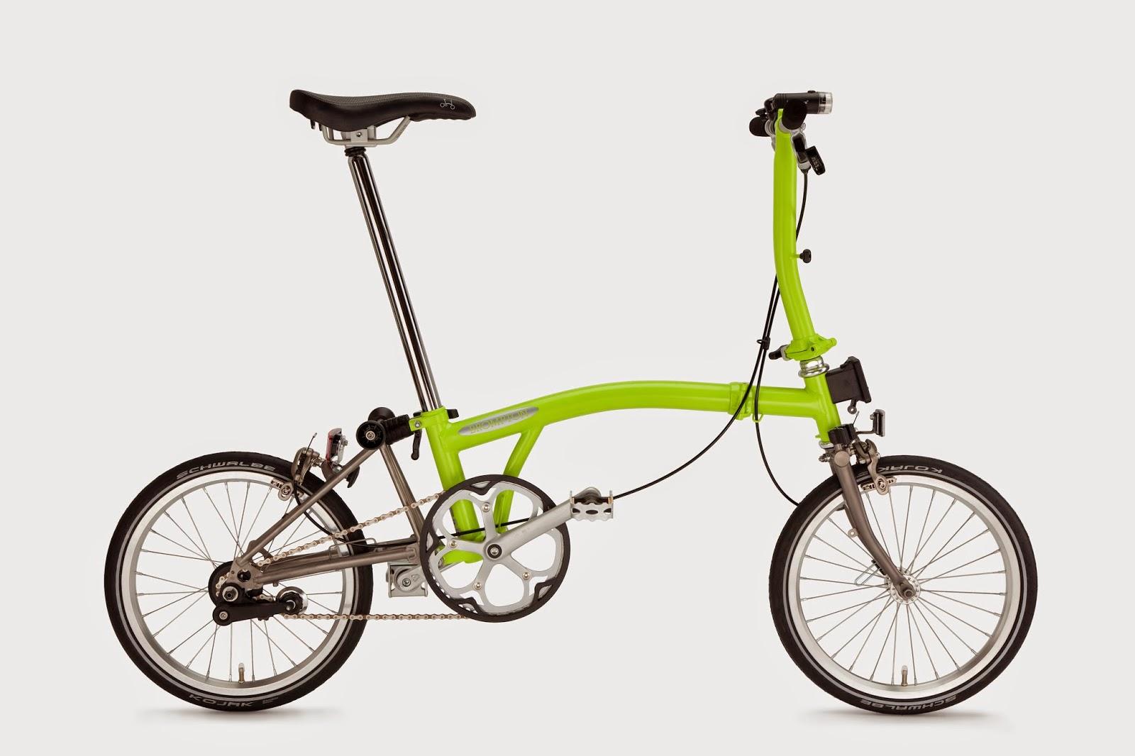 bikesvienna Brompton 2015 NEW COLORS!