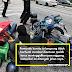 (Video) Rider Grab Food Terpelanting Gara-Gara Pemandu BMW Menukar Lorong Secara Mengejut!