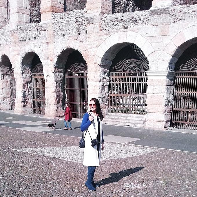 Jelena Zivanovic Instagram.Verona arena.Arena di Verona.Amfiteatar arena u Veroni.