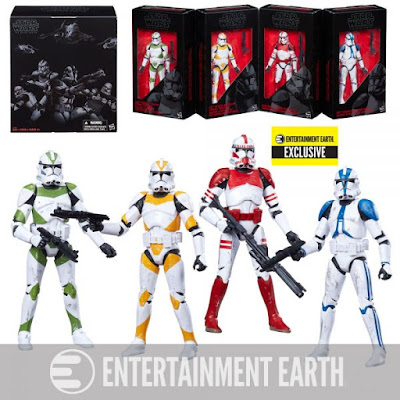 "Entertainment Earth Exclusive Star Wars: The Black Series Order 66 Clone Troopers 6"" Action Figure Box Set by Hasbro"