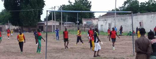 Life returns to Bama as youths play football after Boko Haram departure